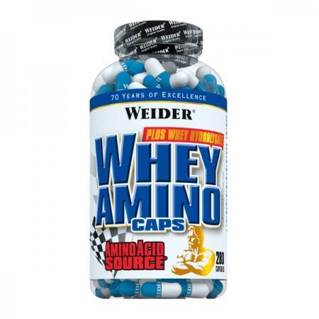 Weider Whey Amino Caps, 280 капсул