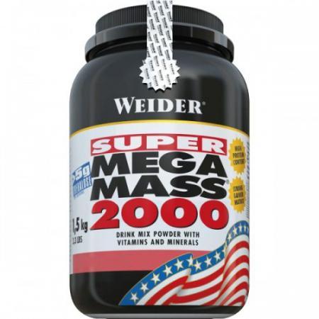 Weider Mega Mass 2000, 1,5 кг