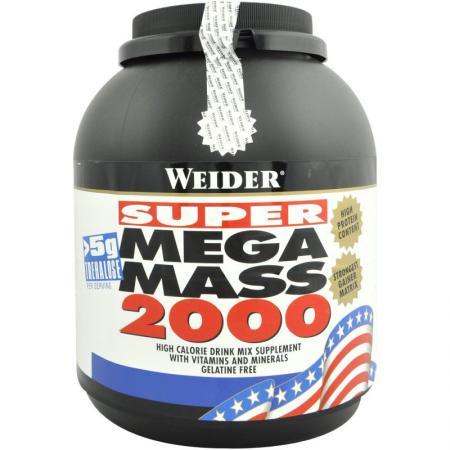 Weider Mega Mass 2000, 3 кг