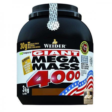 Weider Mega Mass 4000, 3 кг