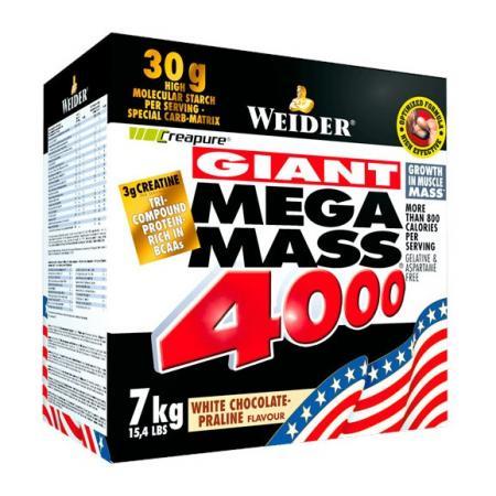 Weider Mega Mass 4000, 7 кг