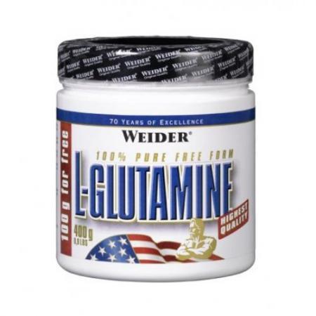 Weider L-Glutamine, 400 грамм