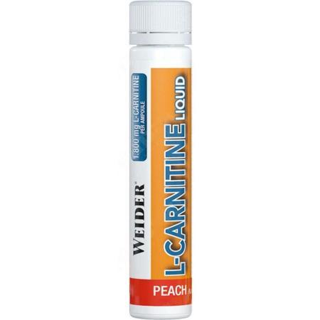 Weider L-Carnitine 1 800 мг, 25 мл - персик