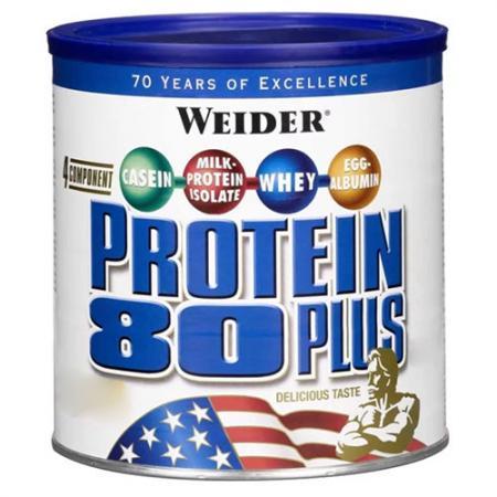 Weider Protein 80 Plus, 500 грамм - банка
