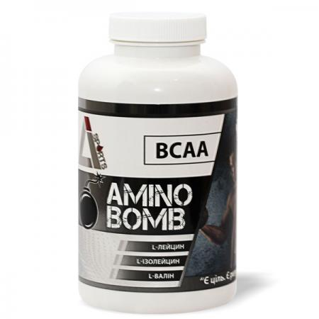 LiSports BCAA Amino Bomb, 200 таблеток