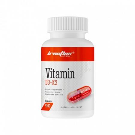IronFlex Vitamin D3 + K2, 90 таблеток