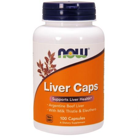 NOW Liver EXTRACT, 100 капсул
