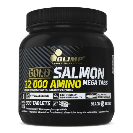 Olimp Gold Salmon 12000 Amino, 300 таблеток