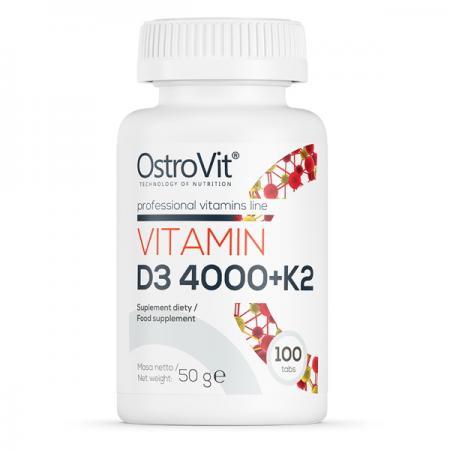 OstroVit Vitamin D3 4000 +K2, 90 таблеток