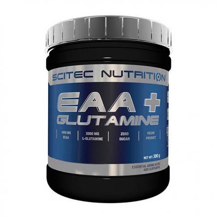 Scitec EAA + Glutamine, 300 грамм