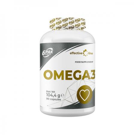 6PAK Nutrition Omega 3, 90 капсул - Effective Line