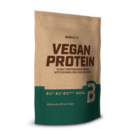 BioTech Vegan Protein, 500 грамм