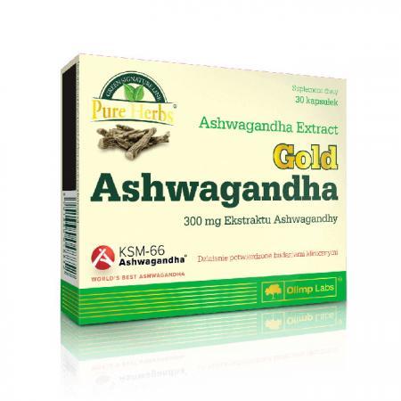 Olimp Gold Ashwagandha, 30 капсул