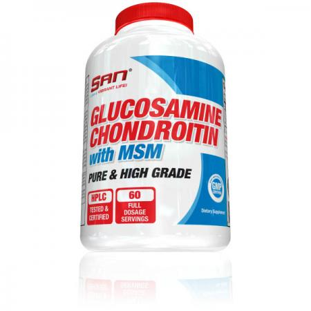 SAN Glucosamine and Chondroitin with MSM
