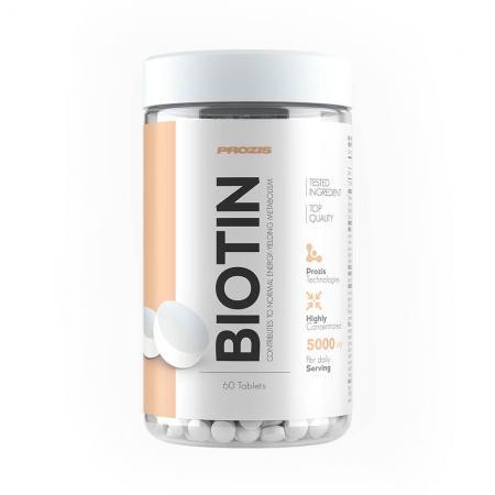 Prozis Biotin 5000 мкг, 60 таблеток