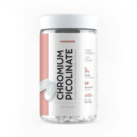 Prozis Chromium Picolinate 600 mcg, 120 капсул