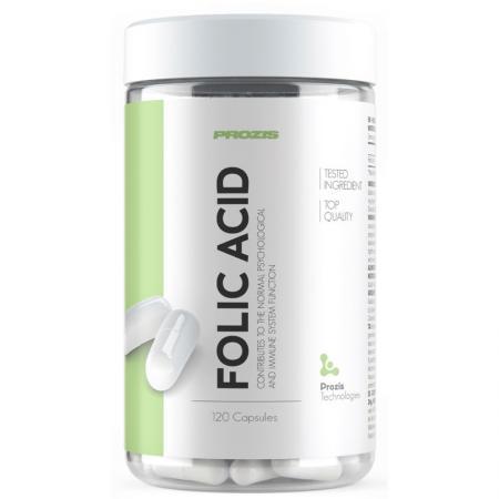 Prozis Folic Acid 500 mcg, 120 капсул