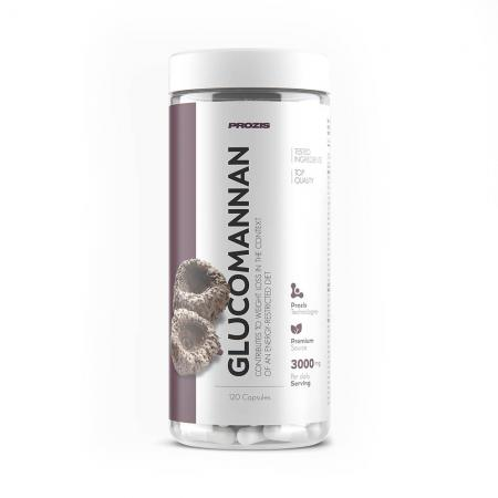 Prozis Glucomannan 3000 mg, 120 капсул