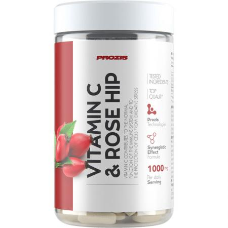 Prozis Vitamin C 500 mg + Rose Hip