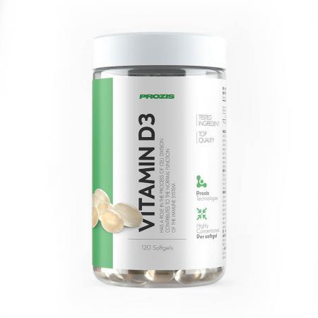 Prozis Vitamin D3, 120 капсул