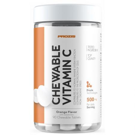 Prozis Vitamin С 500 mg, 90 жевательных таблеток - апельсин