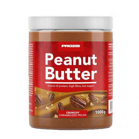Prozis Peanut Butter Caramelised Pecan, 1 кг - Crunchy