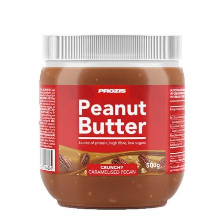 Prozis Peanut Butter Caramelised Pecan, 500 грамм - Crunchy