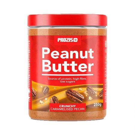 Prozis Peanut Butter Caramelised Pecan, 250 грамм - Crunchy