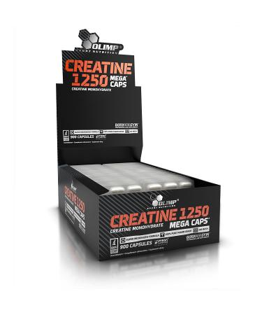 Olimp Creatine 1250 Mega Caps, 900 капсул