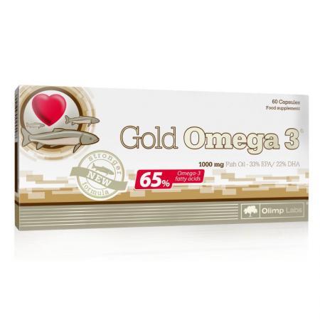Olimp Gold Omega 3 65%, 60 капсул