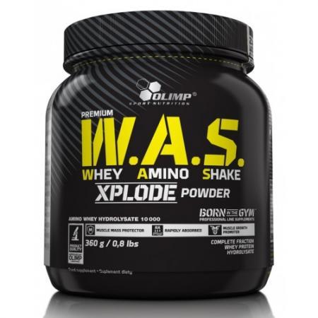 Olimp W.A.S. Whey Amino Shake Xplode Powder, 360 грамм