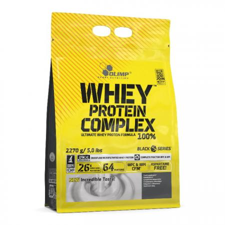 Olimp Whey Protein Complex 100%, 2.2 кг-банка