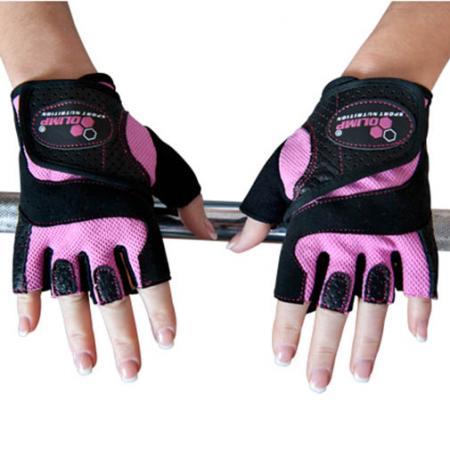 Перчатки женские Olimp Hardcore Fitness Star-розовые