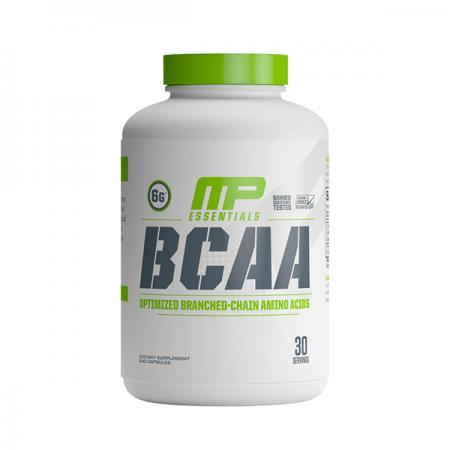 MusclePharm Essentials BCAA, 240 капсул