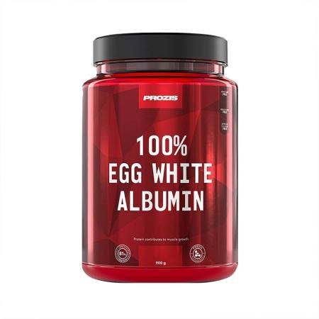 Prozis 100% Egg White Albumin, 900 грамм