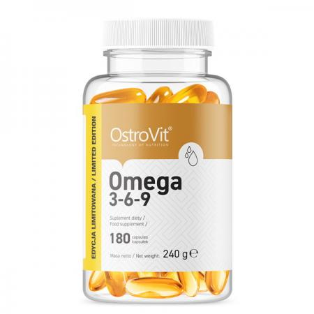 OstroVit Omega 3-6-9, 180 капсул - Limited Edition