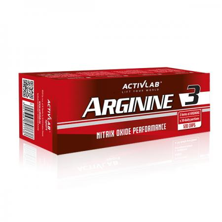 Activlab Arginine 3, 120 капсул