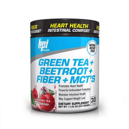 BPI Sports Green Tea+Beetroot+Fiber+MCTs, 330 грамм