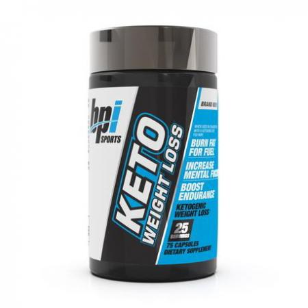 BPI Sports KETO WEIGHT LOSS, 75 капсул