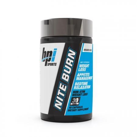 BPI Sports Nite Burn, 30 капсул