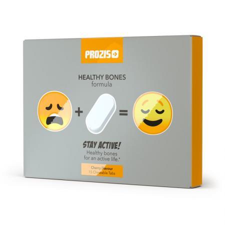 Prozis Stay Active Healthy Bones, 15 жевательных таблеток