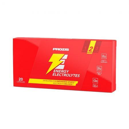 Prozis Energy Electrolytes blister, 20 капсул