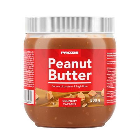 Prozis Peanut Butter Caramel, 500 грамм (Crunhy)