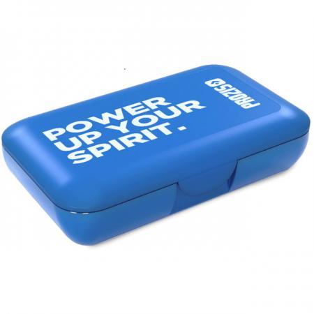 Таблетница Prozis, синяя - Power up You Spirit