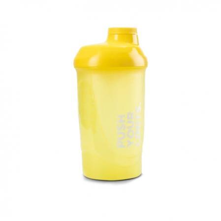 Шейкер Prozis 600 мл, желтый - Push Your Limits