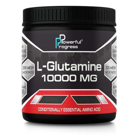 Powerful Progress L-Glutamine, 300 грамм