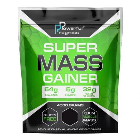 Powerful Progress Super Mass Gainer, 4 кг