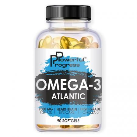 Powerful Progress Atlantic Omega-3 - 90 капсул