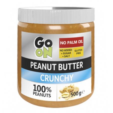 GoOn Peanut butter, 500 грамм (Crunchy) - стекло