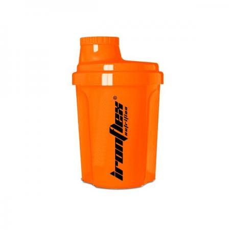IronFlex Nano Shaker 300 мл, оранжевый